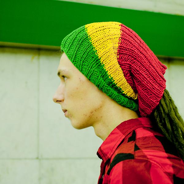 Раста повязка для дред и шапка для дред