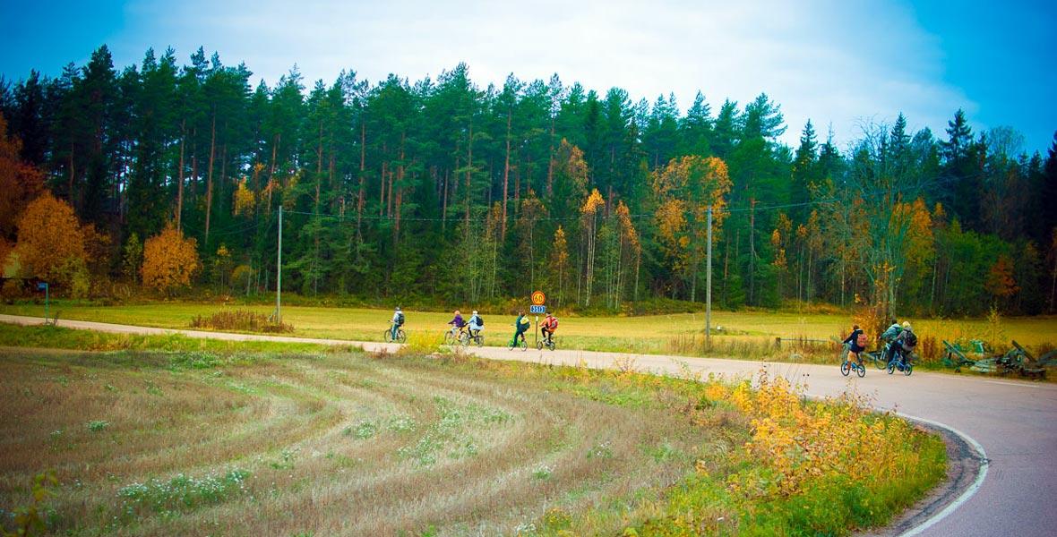 Велошенген: велопутешествие по Виролахти на стриде